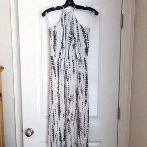 Cynthia Rowley tie dye maxi dress, size small